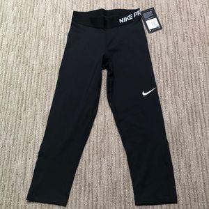 NWT Nike Pro Cool Dri Fit Black Tight Leggings XS